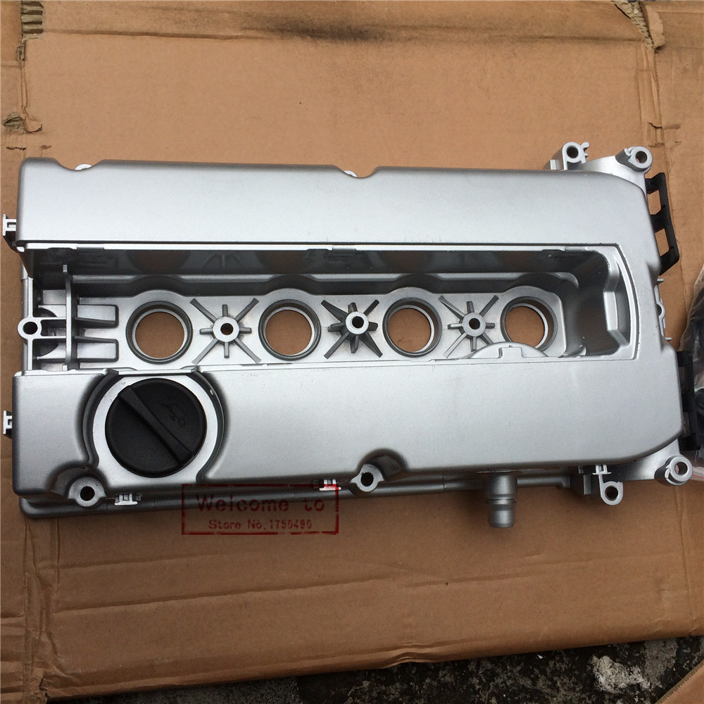 цена на Aluminum Engine Valve Cover 55564395 with Screw & Gasket For Chevrolet Cruze Aveo Saturn Astra Z16XER A16XER A16LER Z18XER