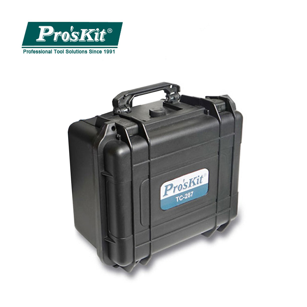 Pro'sKit TC-287 Outdoor Plastic Waterproof Airtight Boxes Travel Sealed Container Survival Case Container Storage Carry Box
