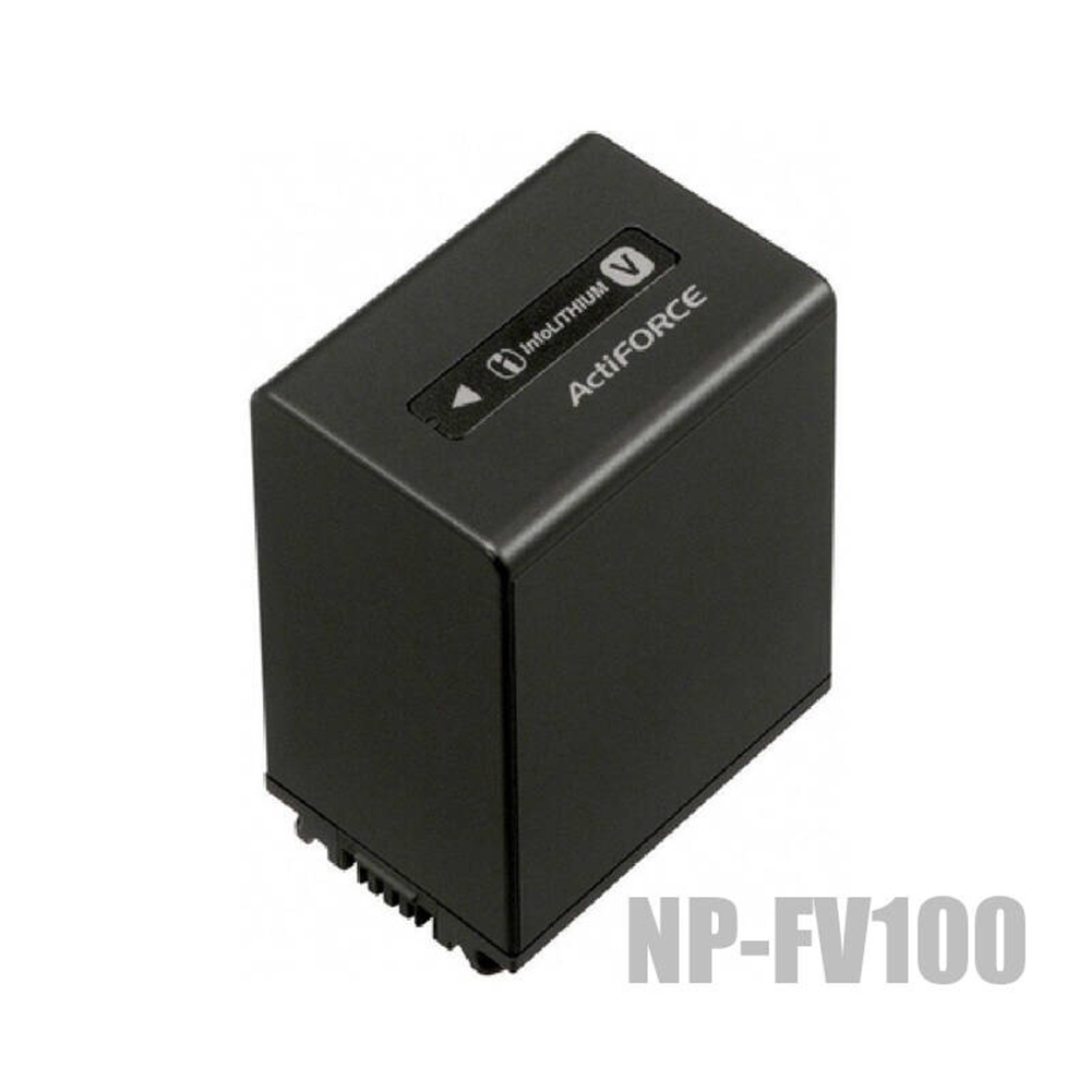 лучшая цена NP-FV100 NP FV100 lithium batteries pack NPFV100 Digital camera battery For Sony NP FV50 FV70 HDR-CX230 HDR CX150E CX170 CX300