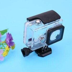 Image 4 - חם 45M מתחת למים צלילה עמיד למים מקרה עבור Xiaomi יי 1 ספורט מצלמה עמיד למים מגן תיבת לxiaomi יי 1 פעולה מצלמה