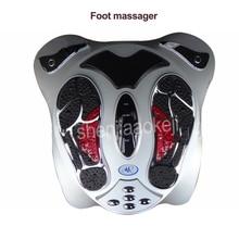 Электрический массажер для ног дальние инфракрасные тепловые электромагнитные точки рефлексология массаж ног устройство для физиотерапии инструмент 1 шт.