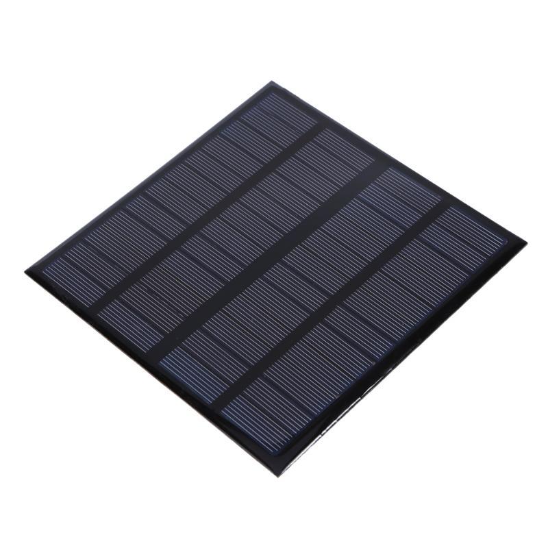 Alloyseed 3W 12V 250mA Solar Panel Polycrystalline Silicone Solar Sun Power Panel Battery Charger Power Supply Board