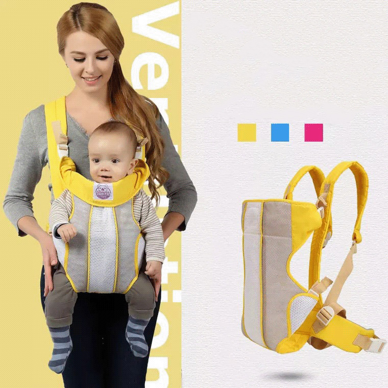 Porte-bébé face avant respirant Hipseat 20 kg sac à dos à bandoulière confortable pour bébé pour 0-36 mois