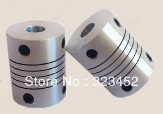 BR 6.35mm x 10mm D20L25 Flexible Coupling Shaft Coupler Encode Connector CNC