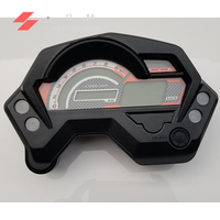 Motorcycle Speedometer Digital Universal Electronics Indicator LCD Display Accessories for Cafe Racer Speedometer Yamaha FZ16