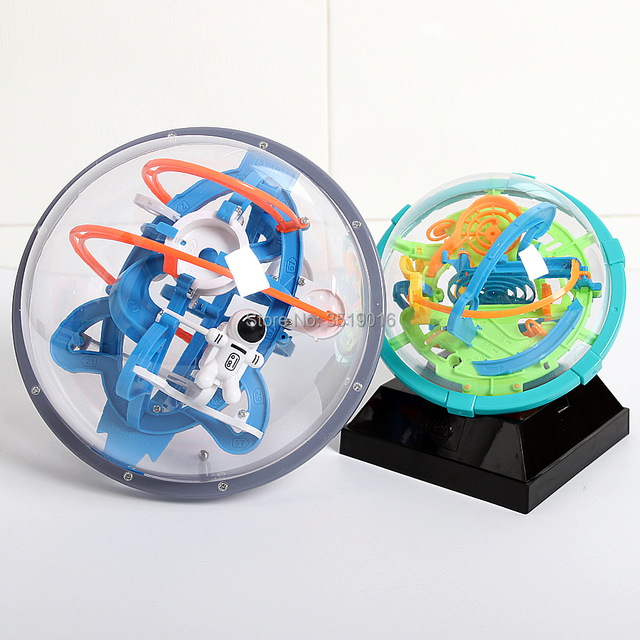 Magic-Intellect-Ball-3D-Space-mission-Maze-globe-Ball-IQ-Balance-toy-Educational-classic-toys-Maze