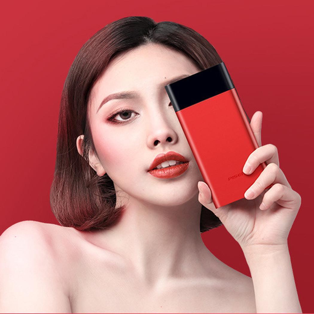 10000 mAh Portable simple USB batterie externe chargeur de batterie externe 18650 Lithium powerbank téléphone Portable Micro 5 V/2A pour xiaomi