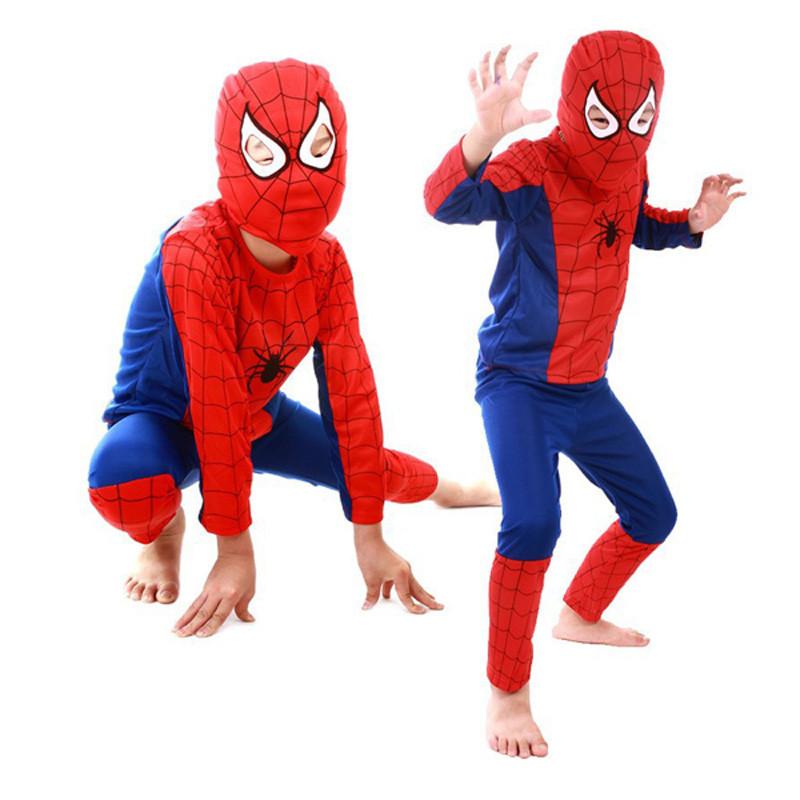 3 styles kids baby superhero spider man superman batman spiderman cosplay carnival halloween costume child accessories for kids 15