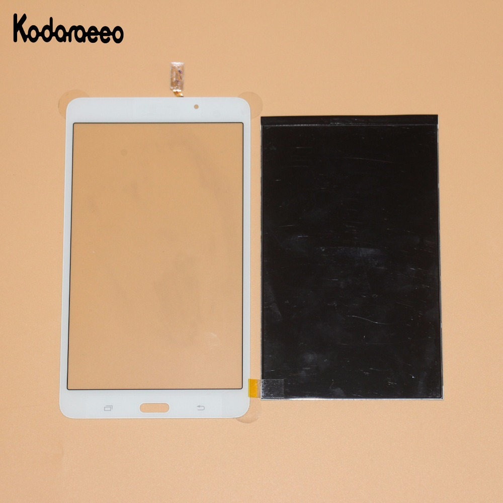 kodaraeeo For Samsung Galaxy Tab 4 7.0 T230 T231 Touch Screen Digitizer Glass+LCD Display Panel Replacement White new tablet pc lcd screen bp070wx1 300 for samsung galaxy tab 4 7 0 t230 t231 lcd screen display panel free shipping