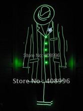 EL luminous suit for performance/business suit/light-up suits/Performance Apparel