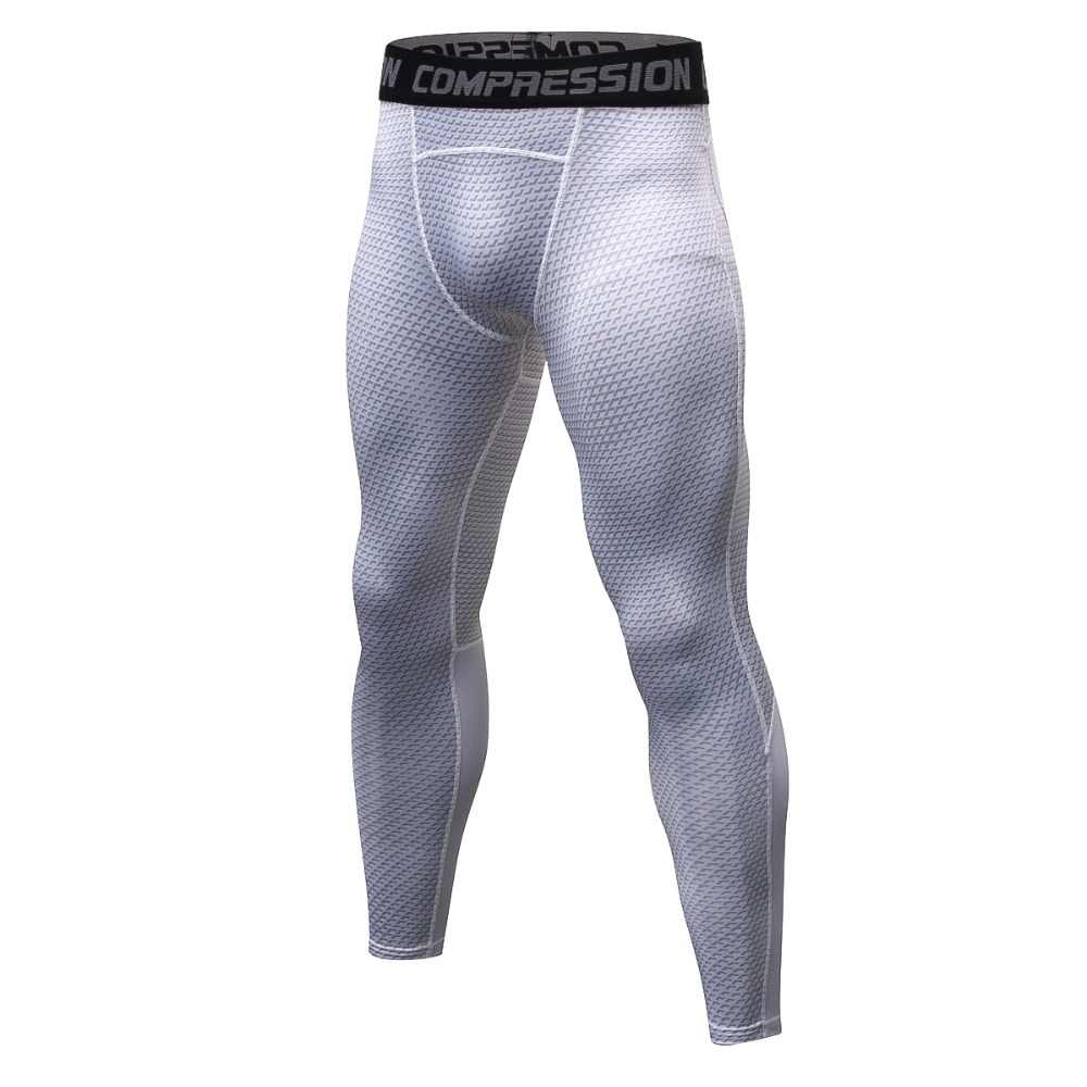 e7e0bff5b881e 2018 New Compression Pants Tights Men Leggings Fitness Clothing Leggings Men  Trousers