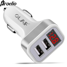 Proelio Dual USB Car Charger Adapter Fast Charging For iphon