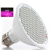 200 LEDs E27 LED Plant Grow Light Lamp Plant Growing Lights Bulbs 24W Hydroponics Systems For