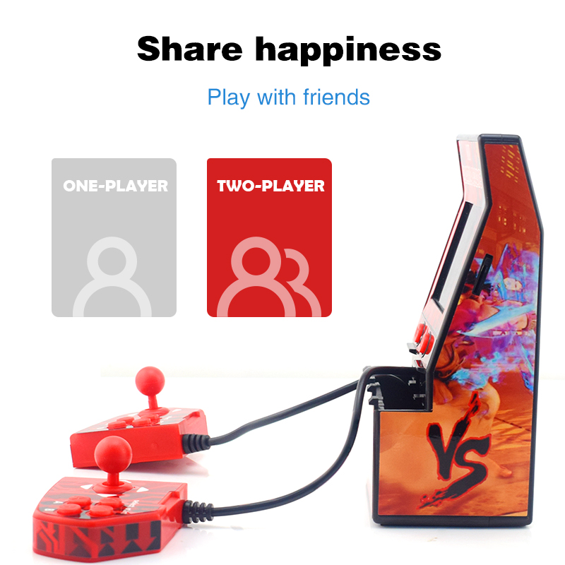 Image 3 - DATA FROG Classic Mini Arcade Retro Handheld Game Console Portable Built in 183 Games Support TF Card Toys Gifts for Children-in Handheld Game Players from Consumer Electronics