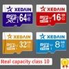 Full Size Memory Cards Micro SD Cards 32GB Class10 Grade Memory Cards 64gb 16gb Class 10 Microsd TFcard for Cellphone/TA XEDAIN