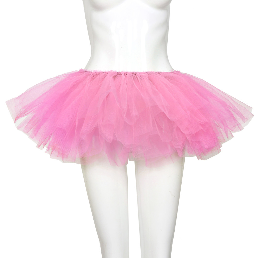 2019 MAXIORILL NEW Hot Sexy Fashion Pretty Girl Elastic Stretchy Tulle Adult Tutu 5 Layer Skirt Wholesale T4 47