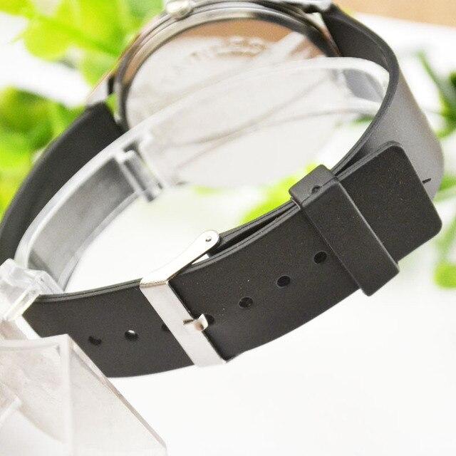 Nuova vigilanza di modo, sport degli uomini di sottile studente impermeabile vigilanza degli uomini, orologio al quarzo, semplice orologio da polso 3
