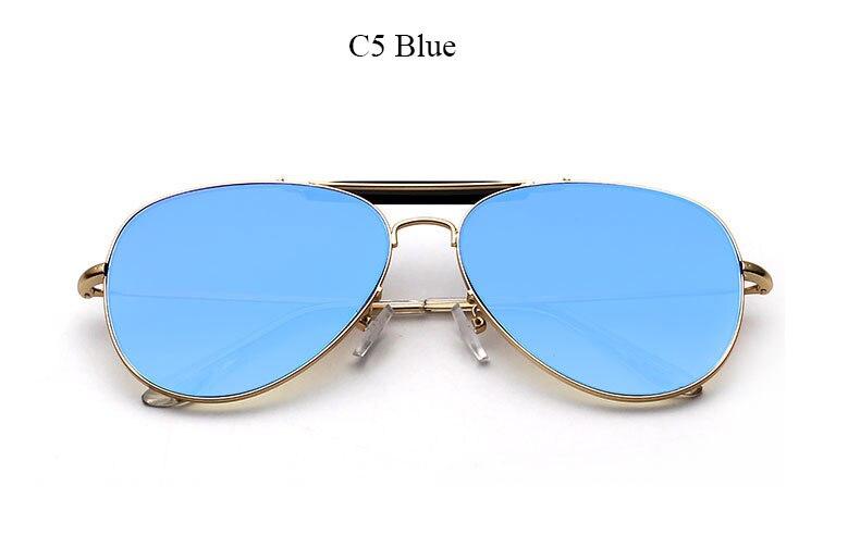 e12962fdeb6 Flat Lens High Quality Brand Designer Sunglasses Women Men Thom Mirror Sun  Glasses Top Pink Fashion Trend Stylish Pilot Eyewear-in Sunglasses from  Apparel ...