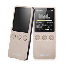 "Speaker 1.8"" 8GB MP3 MP4 Player Slim Video Radio FM players For 64GB Micro SD TF Card Music Playing times 200 hours RUIZU X08"