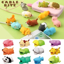 Cable Protector Cute Animal Shape Prevents Breakage Cable Protects for iPhone JLRL88-in Mobile Phone Stickers from Cellphones & Telecommunications on Aliexpress.com | Alibaba Group