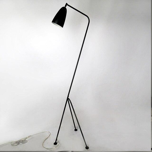 modern floor lamp black metal lamp shades adjusted angle ac 110v 220v for dining room