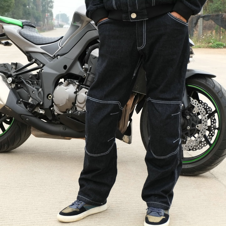 New Free Yogin Cycling Pants/ Motorcycle Off-road Pants Racing Pants/racing Suits/riding Windproof Pants Have Knee Pads F-2