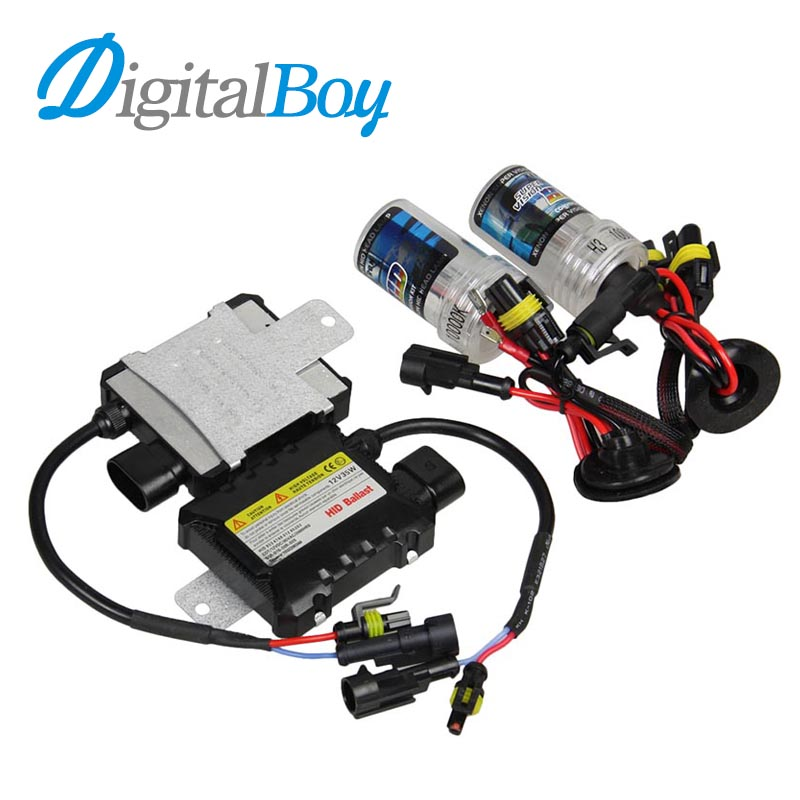 Digitalboy 35W HID Xenon Bulb H3 Car Slim Ballast Block Conversion Kit Auto Car Headlight Lamp Front Light H3 5000k 6000k 8000k digitalboy 12v dc 35w hid h1 xenon ballast kit slim block with bulbs lights headlight 5000k 6000k 8000k car front light lamp