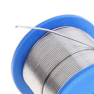 Image 5 - はんだワイヤ60/40 B 1 500グラム0.5ミリメートル 2.0ミリメートル無洗浄ロジンのコアと2.0% フラックスと低融点電気はんだごて