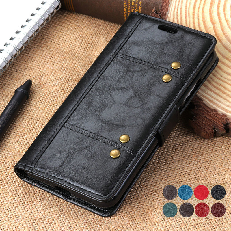 Luxury Flip Leather for Sony Xperia 10 Case Coque Sony 10Plus Case Xperia 5 8 Xperia1 Wallet for Xperia 10 Plus Cover Xperia10