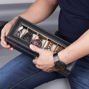 Image 3 - BOBO BIRD boîtier dexposition en cuir PU, boîtier de rangement de montres et de bijoux, 6 fentes 10 fentes