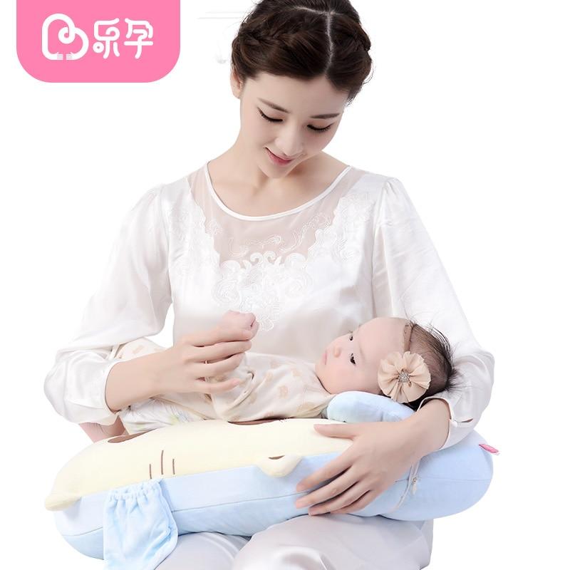 Leyun Breastfeeding Nursing Pillow Baby Body Pillow Cotton Multi Function Baby Learn Sit Pillow