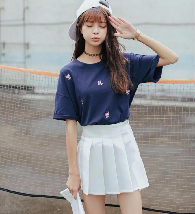 HTB1tvGzNVXXXXadXpXXq6xXFXXXG - Summer American School Style Fashion Skirts