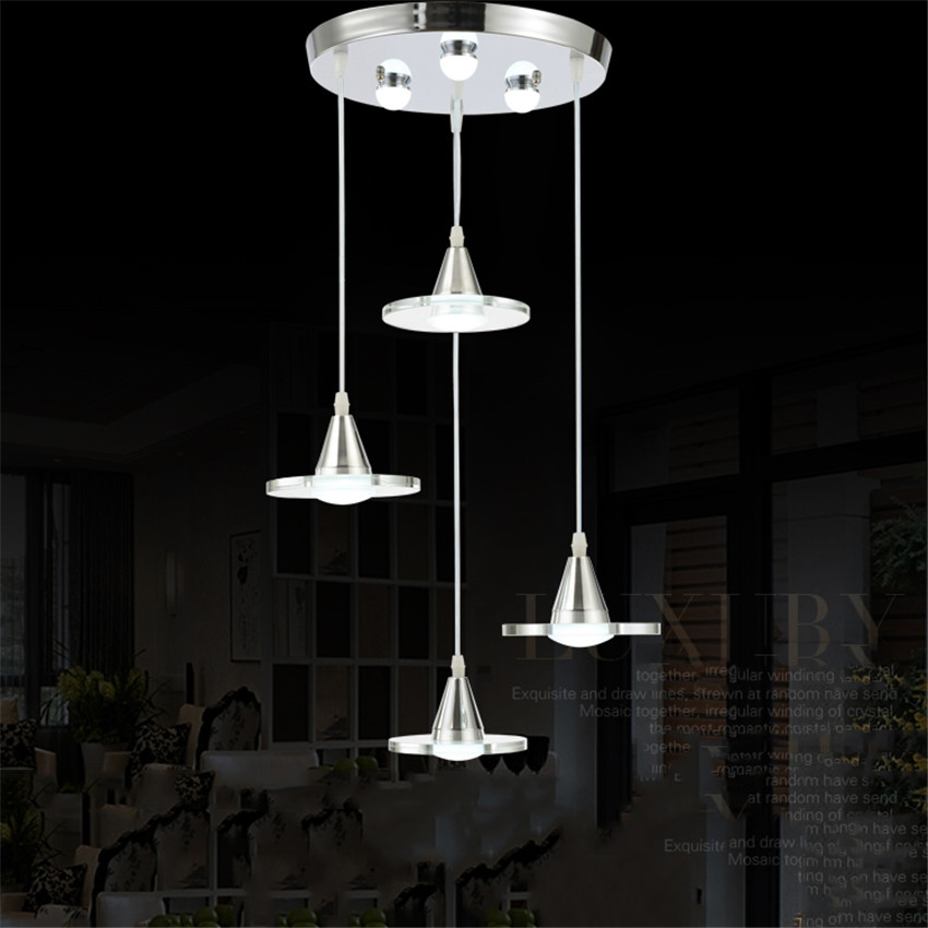 Beautiful silver flower crystal pendant lights fixtures aluminum hanging pendant lamp crystal - Lovely dining rooms with hanging lights ...
