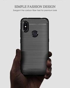 Image 3 - Xiaomi Redmi 참고 6 프로 탄소 Xiomi 참고 6 Redmi6 Redmi6A Redmi6Pro 6A 6pro 견고한 갑옷 TPU 커버에 대 한 부드러운 실리콘 전화 케이스