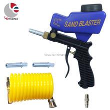 LEMATEC Gravity Feed Sandblast gun Sandblasting Gun for rust remove Sandblaster air tools Made in Taiwan high quality air tools