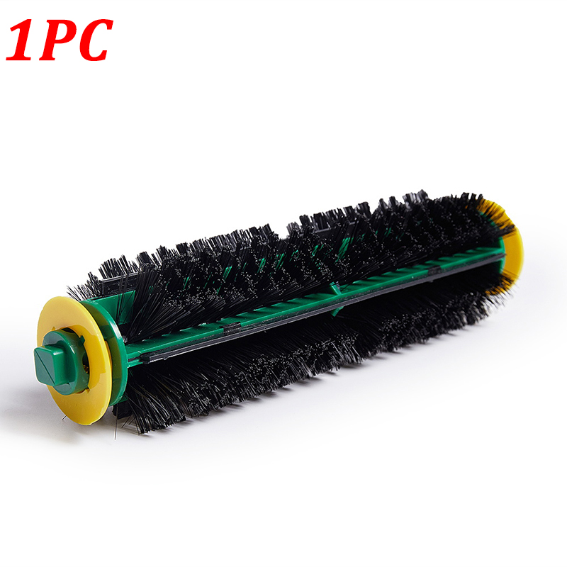 Bristle Brush for iRobot Roomba 500 Series 510 530 535 540 550 560 570 580 Black Hair Brushes Vacuum Robots Replacement 1Pc 14pcs free post new side brush filter 3 armed kit for irobot roomba vacuum 500 series clean tool flexible bristle beater brush