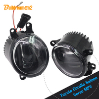 Buildreamen2 For Toyota Corolla Saloon Verso MPV Car Styling LED Right + Left Fog Lamp Daytime Running Light DRL 1 Pair