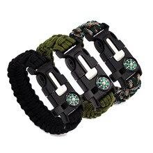 3 in 1 Outdoor Survival Bracelets for Men Women