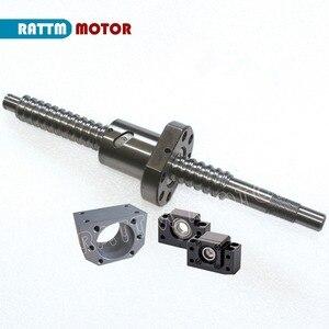 Image 2 - 6 adet SBR16 lineer kılavuzlar yönlü 300 700 1100mm ve 3set SFU1605 Ballscrew 350 750 1150mm somun ile ve 3set BK/B12 ve bağlantı elemanları