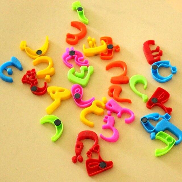 Gemeinsame 28 stücke Arabische alphabet block baby pädagogisches spielzeug #OF_18