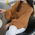sweater pullovers sueter winter sweaters ropa mujer tricot womens sweaters fashion 2016 autumn sweater mujer half-height collar
