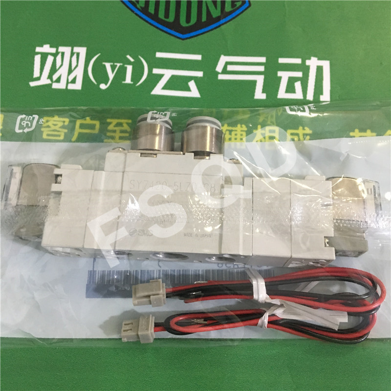 SY7720-5DZ-C8 SY7420-5DZ-C8 SY7420-5LZD-C8 new SMC solenoid valve pneumatic components sy5420 5lzd 01 brand new original authentic smc solenoid valve new laser marking