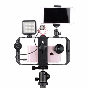 Image 4 - Ulanzi u rig Pro Smartphone zestaw wideo w 3 uchwytach do butów filmowanie Case ręczny telefon stabilizator kamery uchwyt mocowanie do statywu stojak