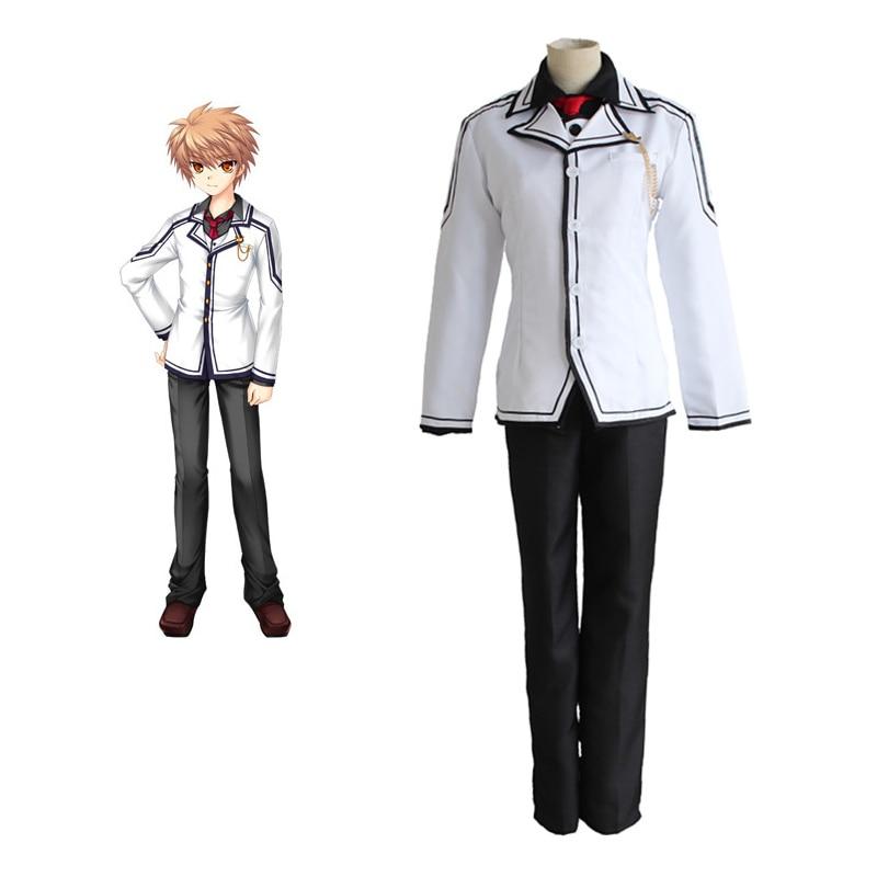 Anime Rewrite Tennouji Kotarou Cosplay Costumes School Boy ...