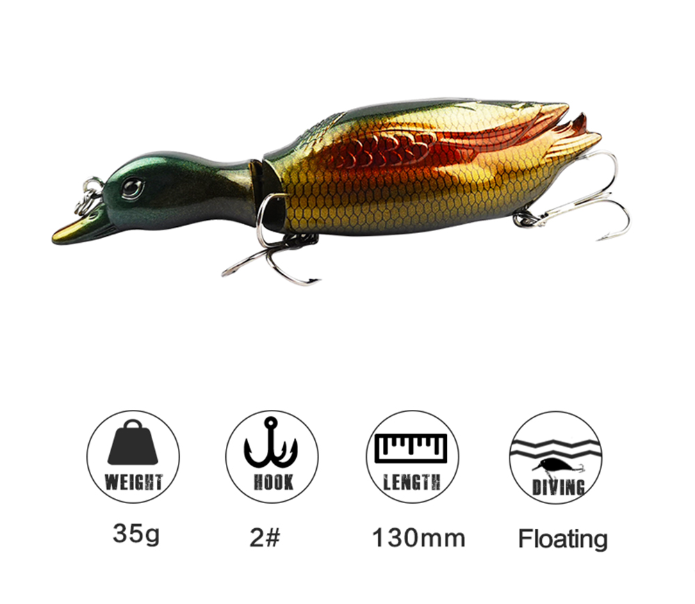 Duck Fishing Lure Crankbait 04