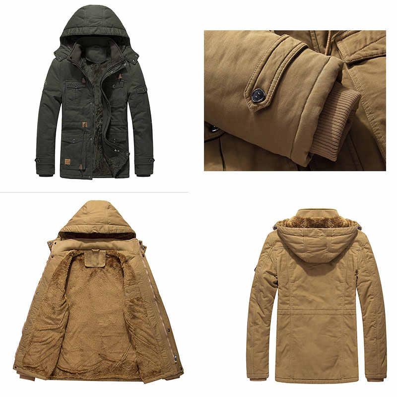 גברים של בגדי מעיל צבאי מפציץ מעיל טקטי להאריך ימים יותר לנשימה אור מעיל רוח מעילי Dropshipping עבה גדול למטה מעיל