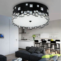Luxury LED Modern K9 Crystal Ceiling Light Home Decorative Lighting Fixture For Living Room Bed Room