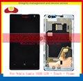 """Высокое Качество 4.5 """"Для Nokia Lumia 1020 Полный Жк-Дисплей С Сенсорным Экраном Дигитайзер Датчик Ассамблеи в Комплекте С Рамкой + Код Отслеживания"""