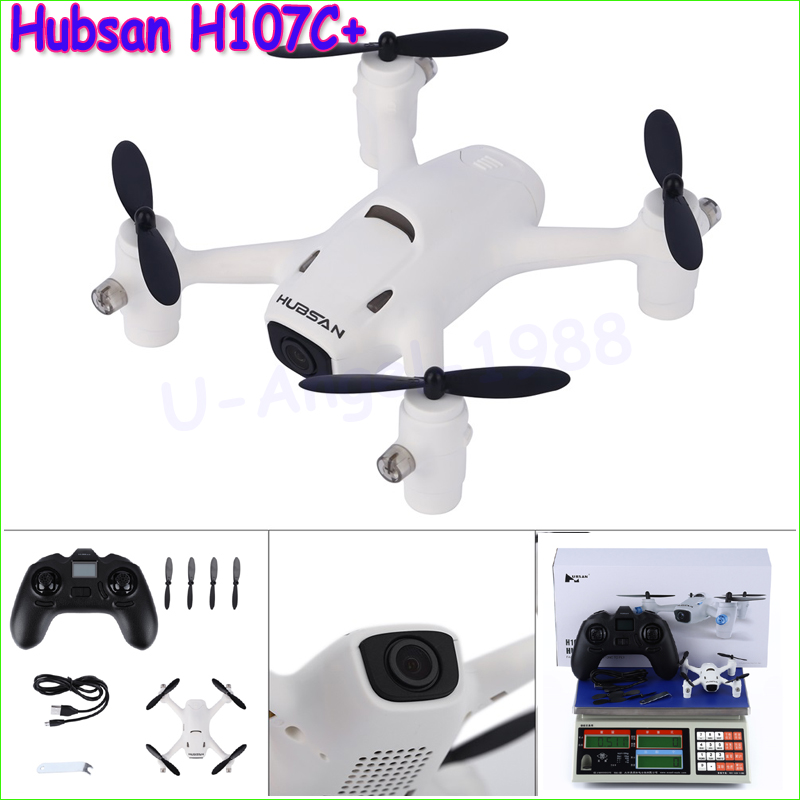 100% Original Hubsan Hubsan X4 Camera Plus H107C+ With 720p 2.4G 4CH RC Quadcopter with Battery h107c a19 protective guard parts for hubsan x4 h107c rc quadcopter