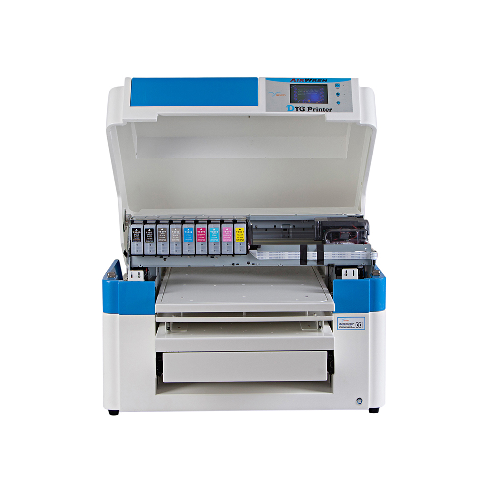 Airwren Dtg Printer For T-shirt Print White And Color At The Same Time